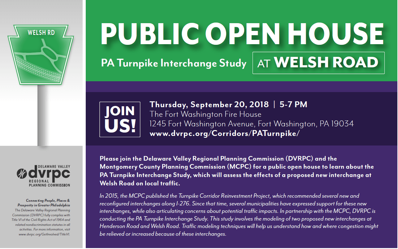 PA Turnpike Study Public Meeting