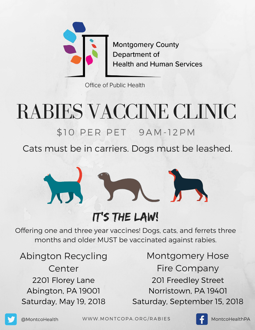 2018 Rabies Clinic updated