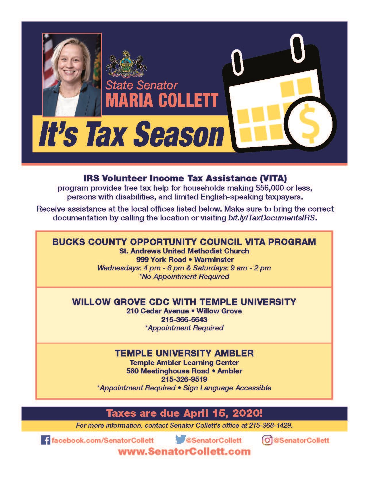 2019 Tax_Prep_IRS_VITA_Flyer